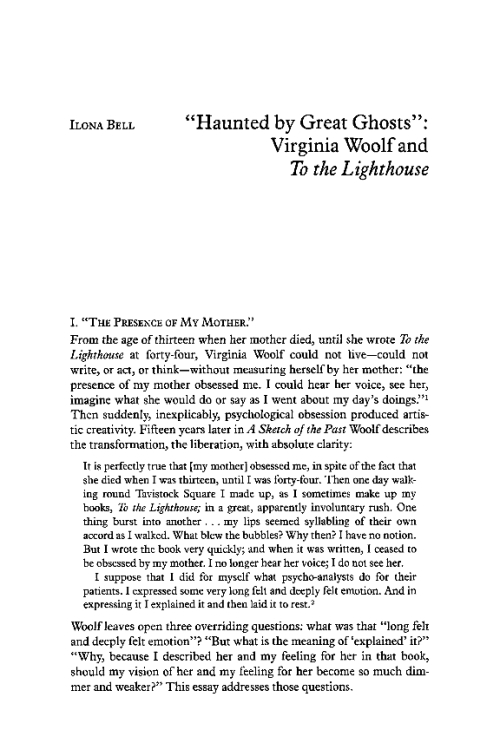 virginia woolfs essays sketching the past A sketch of the past sl selected  in her essay modern fiction, she writes:   virginia woolf, née stephens, her roots and who and what had influenced her.
