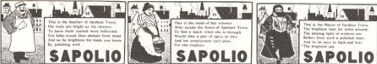 In Its Time (1869-1905) Sapolio Was Perhaps as Well Known as Any Product on the Market21