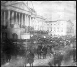 Figure 1. The James Buchanan Inaugural, March 4, 1857. Photograph attributed to John Wood. Courtesy of the Library of Congress, American Treasures Collection.