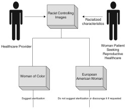 Figure 1. Theoretical Model of Racial Discrimination in Reproductive Healthcare