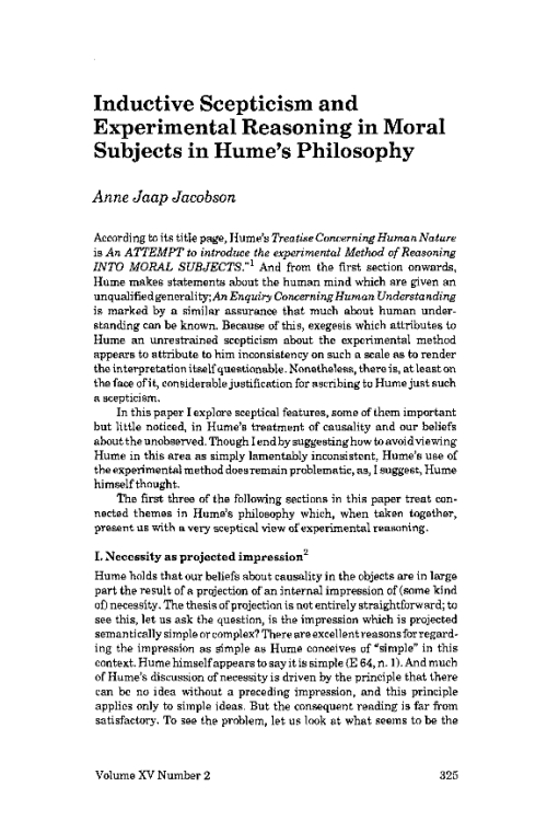 humes moderate skepticism Start studying phil 1305 reesor exam 2 learn vocabulary,  moderate pragmatic skepticism  humes skepticism.