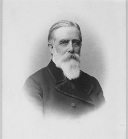 Figure 1. Portrait of Willard Fiske, ca. 1900. Platinum print photograph by Michele Schemboche. Courtesy of the Division of Rare and Manuscript Collections, Cornell University Library (Daniel Willard Fiske Papers 13/1/348, Box 19; image ID: REX007_0006).