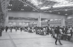 Figure 1. The seventy-first Comic Market, December 29, 2006. One of the big east halls of the exhibition center, which is a little less than one-third of the available exhibition space for dōjinshi at the Comic Market (excluding company booths, cosplay area, and conference rooms).