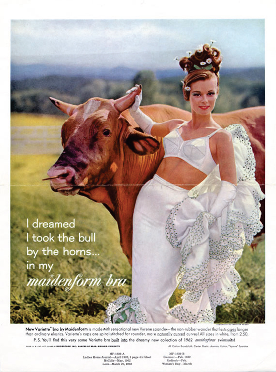 "An Example of the ""I Dreamed. . ."" Maidenform Ads7"