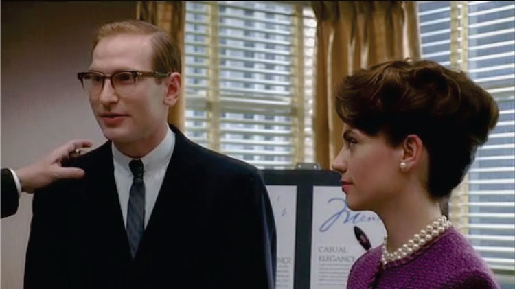 Roger Attempts to Present Sterling Cooper as Ethnically Diverse