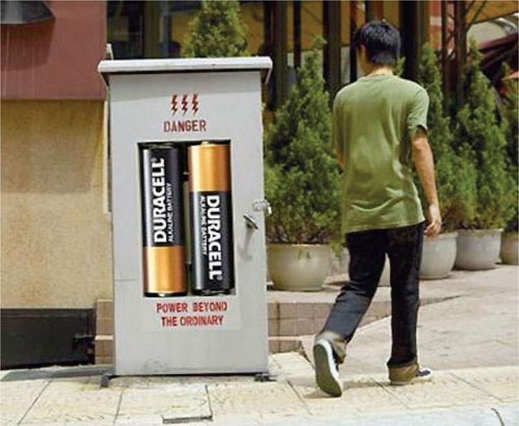 A Sticker Placed on a High Voltage Box in Malaysia is a Creative Way to Communicate with Consumers9