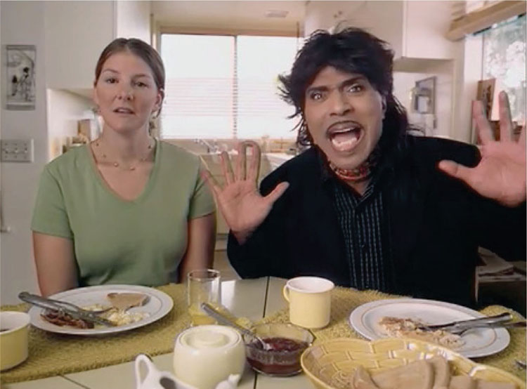 Little Richard as Celebrity Spokesperson for GEICO (2006)