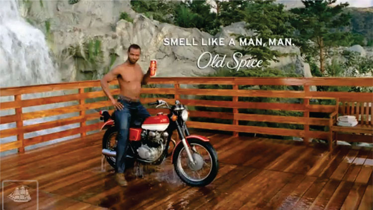 Isaiah Mustafa Responds to a Comment about Old Spice Body Wash