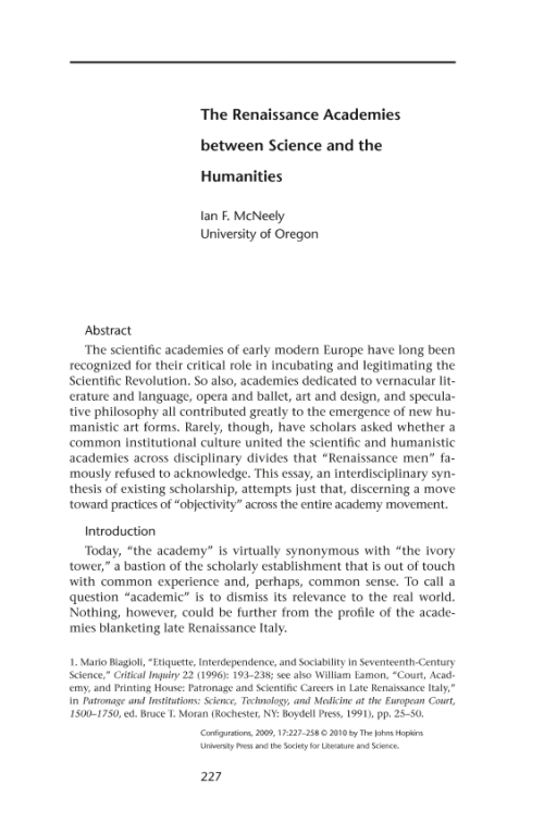 the renaissance humanistic concept of man essay The great intellectual movement of renaissance italy was humanism, which believed that all necessary knowledge is in the greek and latin texts.