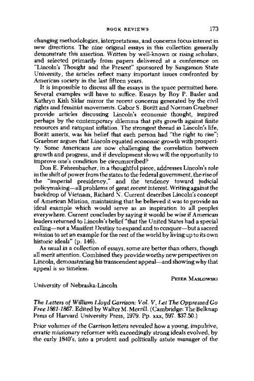 the open letter from william lloyd garrison to the public William lloyd garrison and the fight against slavery: selections from the liberator / edition 1 william lloyd garrison and the an open letter to harriet.