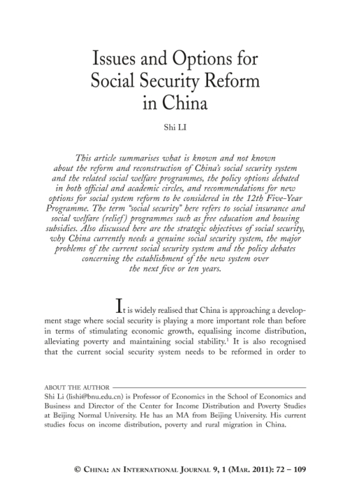the church and social reform pdf