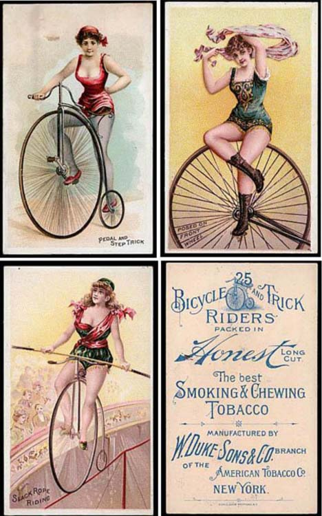 These Daring Women Showed Male Smokers Shocking Amounts of Exposed Skin for the Times (circa 1885-1895)5