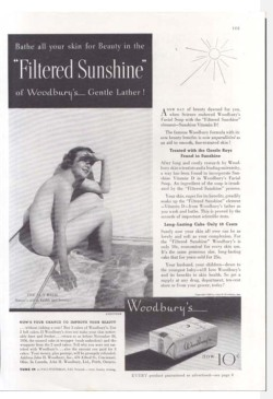 Fig. 6. Woodbury's Used a Fully Nude Model in 1936