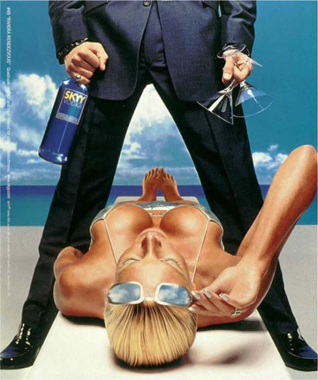 This Ad is Representative of the Many Images of Male Dominance over Women (circa 2000)21