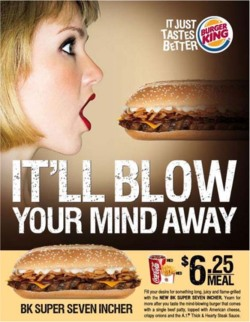 Fig. 28. This Burger King Ad Ran in Singapore in 2009