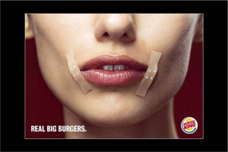 This Burger King Ad Ran in Germany in 200438