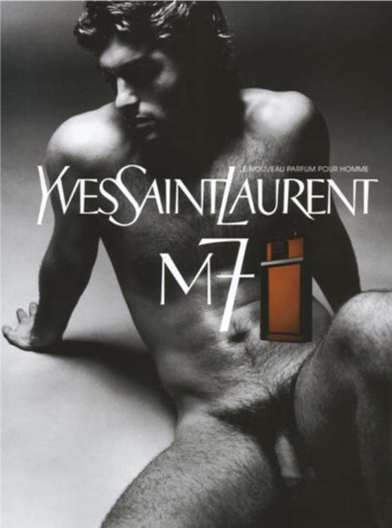 This YSL Ad Is the First Instance of Full Frontal Male Nudity in Advertising (2002)52