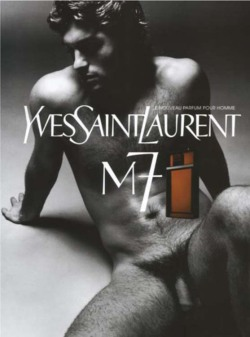 Fig. 36. This YSL Ad Is the First Instance of Full Frontal Male Nudity in Advertising (2002)