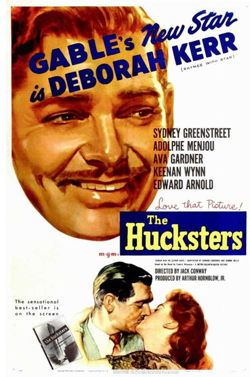 A Movie Poster for The Hucksters (1947)