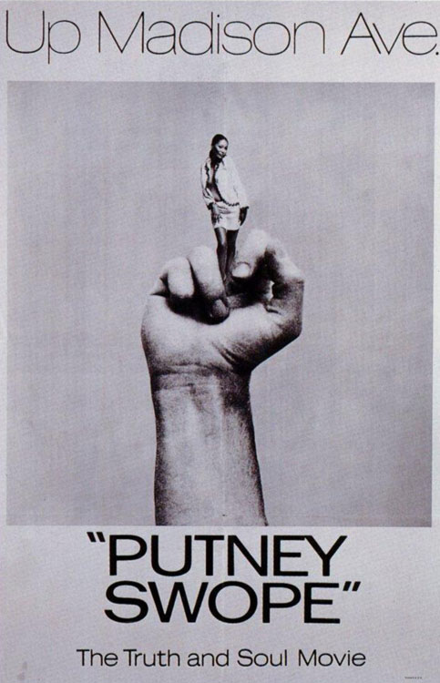 A Movie Poster for Downey's Film (1969)