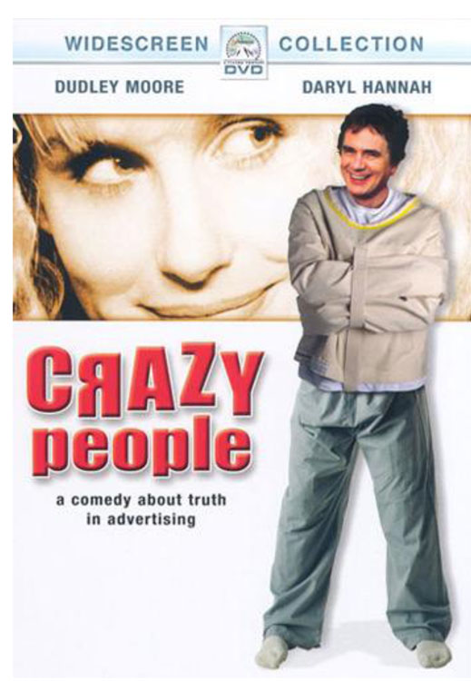 A Movie Poster for Crazy People (1990)