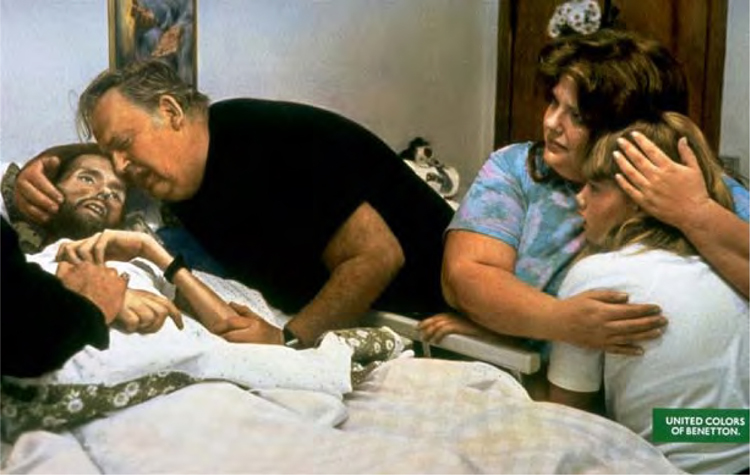 Bill Kirby Comforts His Dying Son, David (1992) 18
