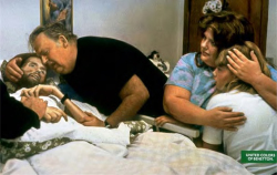 Fig. 4. Bill Kirby Comforts His Dying Son, David (1992)