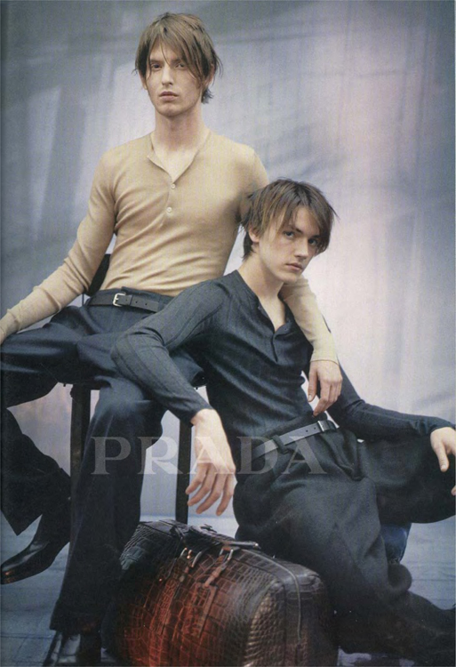 Androgynous Male Bodies Appear in This Prada Ad (2001)57