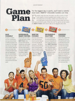Fig. 2. This M&M's Ad Portrays the Ideal Party.