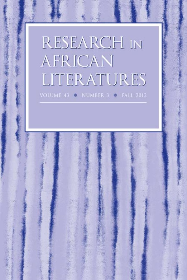 Project MUSE - Intertextuality in Contemporary African Literature: Looking Forward (review) - 웹