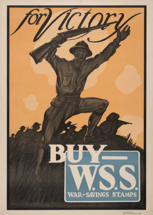 This Public Service Advertisement Urged Americans to Buy War Savings Stamps3