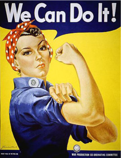 Fig. 13. Rosie the Riveter (1942) Was Sponsored by the Westinghouse Corporation