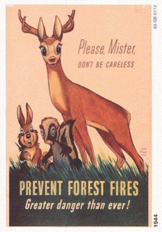 Walt Disney's Bambi Predated Smokey in the Campaign to Prevent Forest Fires (1944)21