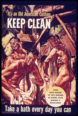 Fig. 26. This Wartime Poster Encourages American Soldiers to Attend to Personal Hygiene