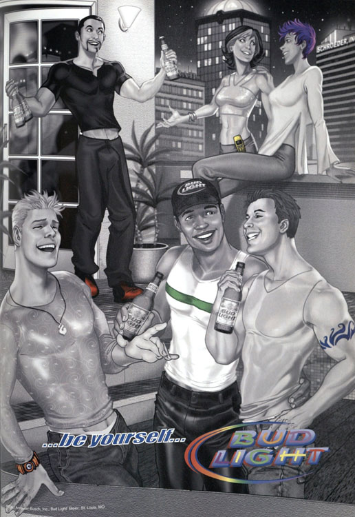 This Bud Light Ad Depicting LGBT Life Includes Racial Diversity32