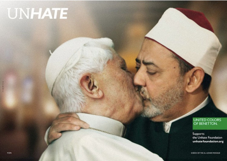 This Benetton Image Broke Too Many Social Taboos48