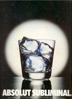 Fig. 16. Absolut Subliminal (Print)