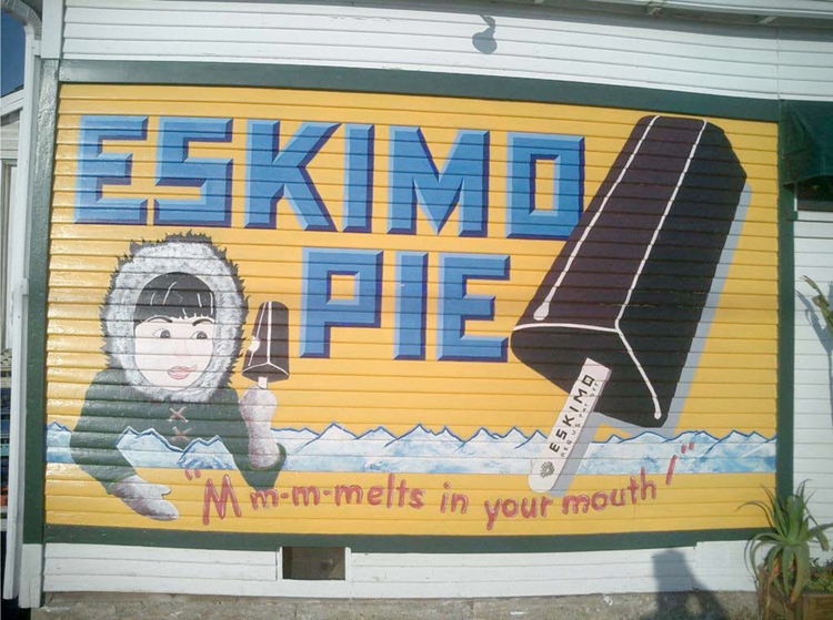 Native American References Are the Essence of the Eskimo Pie Brand7