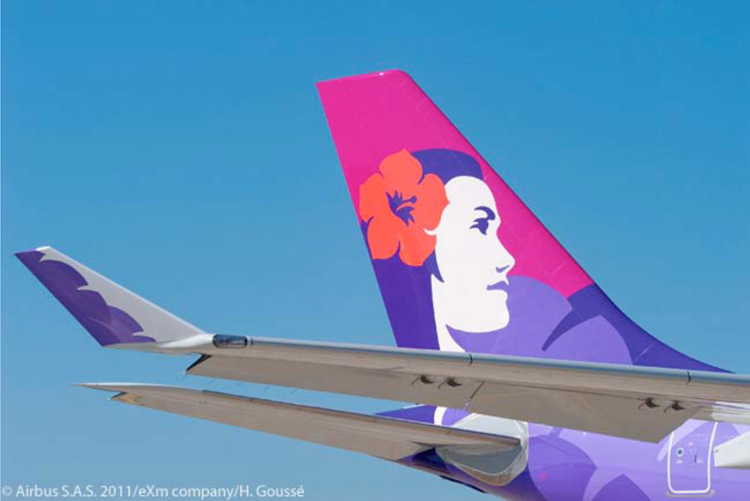 Hawaiian Airlines Uses This Image on Its Planes9