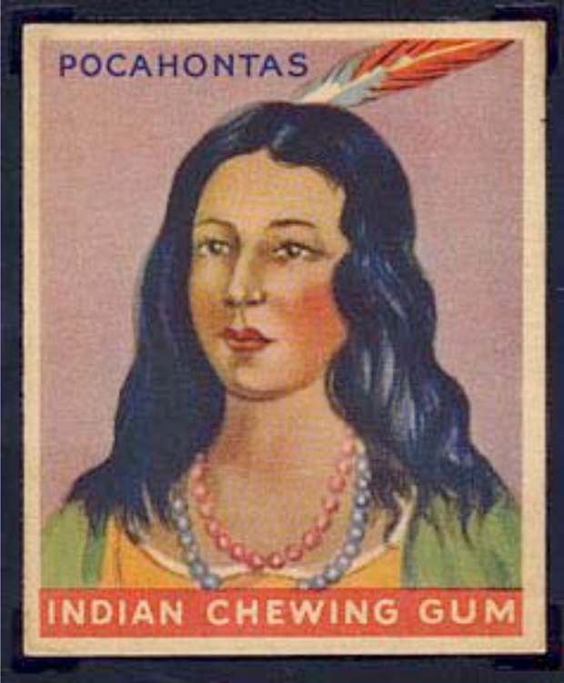 Indian Chewing Gum Card from the 1960s21