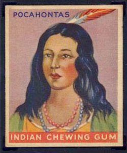 Fig. 12. Indian Chewing Gum Card from the 1960s