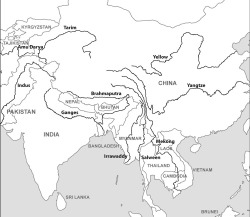 Figure 1. Major Himalayan Rivers