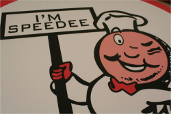 Figure 2. Speedee, the original McDonald's mascot