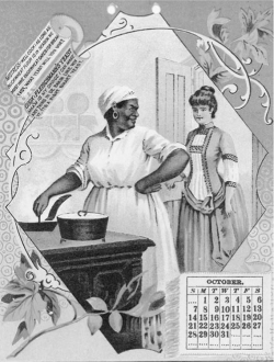Figure 2. Fleischmann's trade-card promotional calendar, ca. 1880s. Author's private collection.