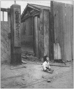 Figure 5. Orphan girl in Inch'ŏn after the Inch'ŏn Landing Operation, September 1950. Courtesy National Archives and Records Administration (NARA), photo no. War & Conflict 1486.