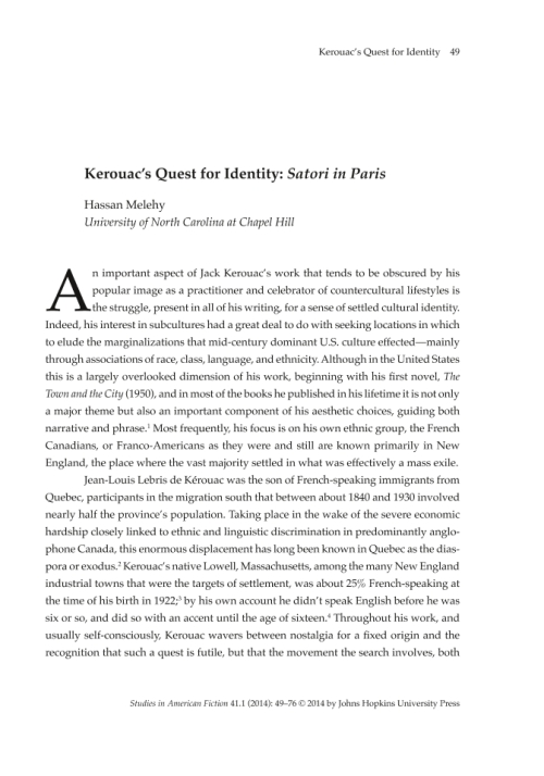 quest for identity in the novels Anglican novelists, alienation and identity, quest for identity page 19 wwwijirascom | email: novel into the mainstream of european and american.