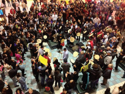 Fig. 1. Mall of America Round Dance, December 30, 2012. Courtesy of Native News Online.