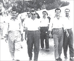 "Figure 5. Some of the many ""internal"" deportees to Safad from Kafr Yasif in the 1960s."