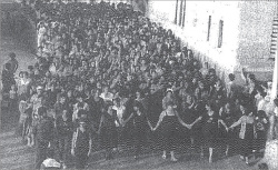 Figure 6. Women of Kafr Yasif protesting the Sabra and Shatila massacres in 1982.