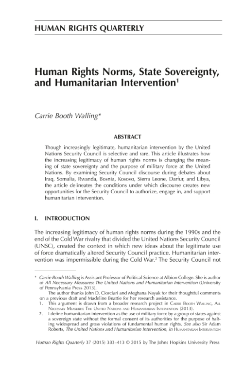 examining the purpose of sovereignty Sovereignty over natural resources: balancing rights and duties in an  states ' sovereign rights for the purpose of exploring and exploiting, conserving and.